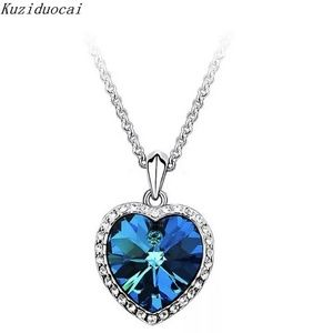 Jewelry - Titanic Heart of the Ocean Theme Necklace